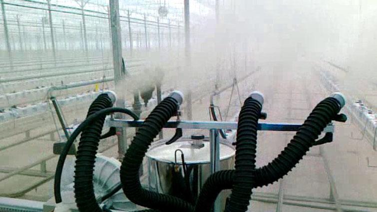 Аэрозольные генераторы холодного тумана